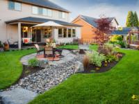 Дизайн дачного двора — 75 фото-идей обустройства ландшафтного дизайна