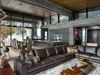 Дизайн интерьера загородного дома — 110 фото готового дизайна