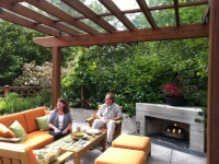 Крыша для беседки — фото лучших решений идеально оформленной крыши в беседке