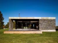 Дизайн дома с плоской крышей — фото идеи оригинального оформления