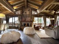 Дизайн потолка с балками в доме — идеальное решение для загородного дома (70 фото)