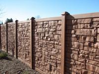 Бетонный забор своими руками — пошаговая инструкция с фото и описанием