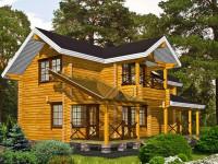 Дома из бруса: как построить быстро и качественно? 81 фото и советы для начинающих
