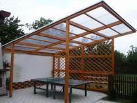 Крыша из поликарбоната — инструкция по установке и лучшие идеи дизайна (64 фото)