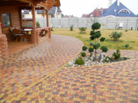 Тротуарная плитка: мощение и советы экспертов по дизайну. 92 фото примеров красивой укладки