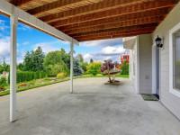 Залить бетоном двор — профессиональные советы и пошаговая инструкция по обустройству двора (90 фото)