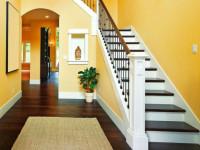 Лестница на второй этаж в загородном доме — лучшие готовые решения для частного дома (50 фото)