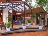 Терраса к дому — идеальные варианты сочетания общего стиля (50 фото)