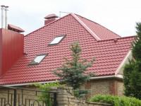Крыша из металлочерепицы: основные этапы установки. Плюсы и минусы + 75 фото