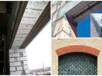 Перемычки над окнами — как установить железобетонное или кирпичное соединение (63 фото)