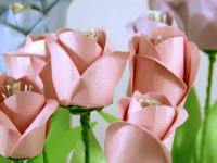 Тюльпан из бумаги (96 фото): подробная пошаговая инструкция по созданию бумажных цветов