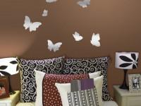 Трафарет бабочки: уникальные идеи для создания современного дизайна (80 фото + видео)