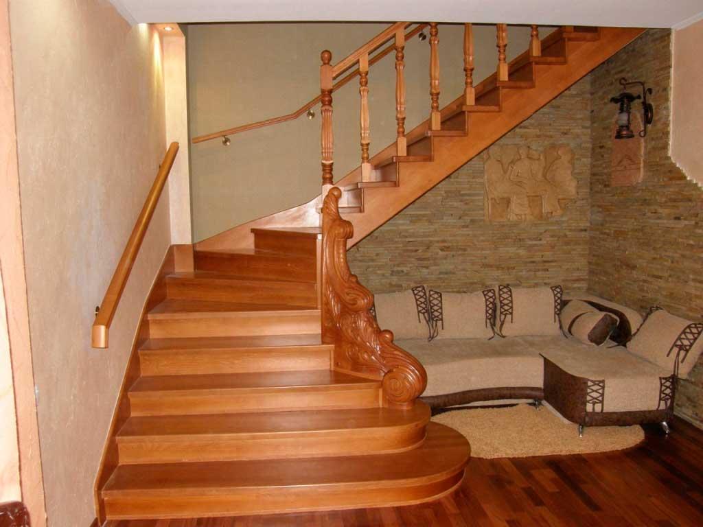 Лестницы из древесины1