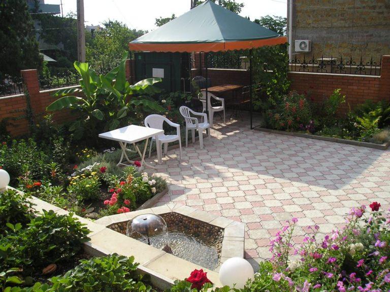 Интерьер для двора частного дома