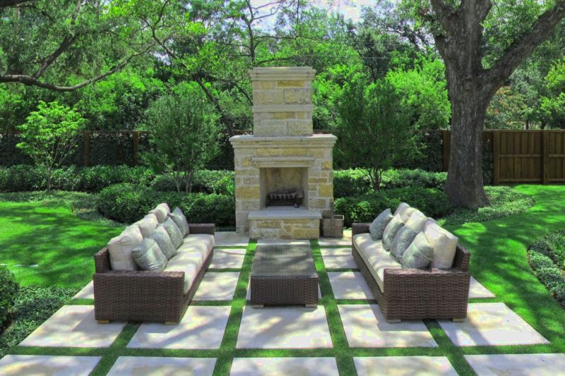 Modern Landscape Design Dallas