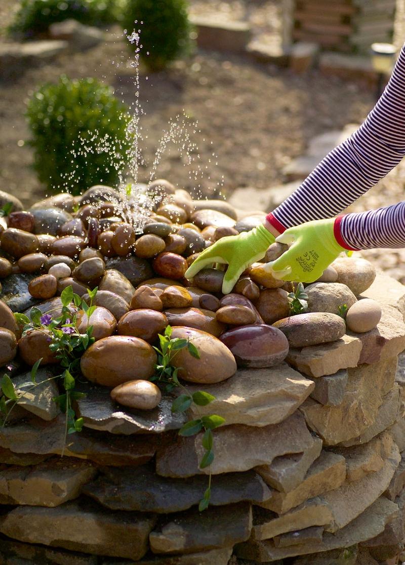 Фонтаны из камня своими руками фото 44