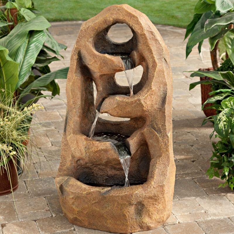 amazing-water-fountain-wooden-mini-house-and-mini-park-decoration-in-decorative-water-fountain