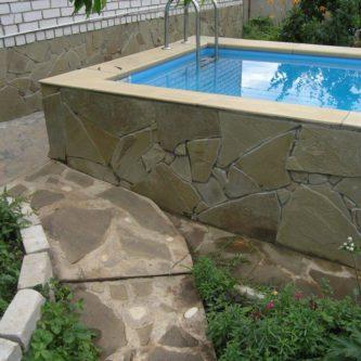 Как сделать бассейн на даче — пошаговая инструкция и 55 фото примеров