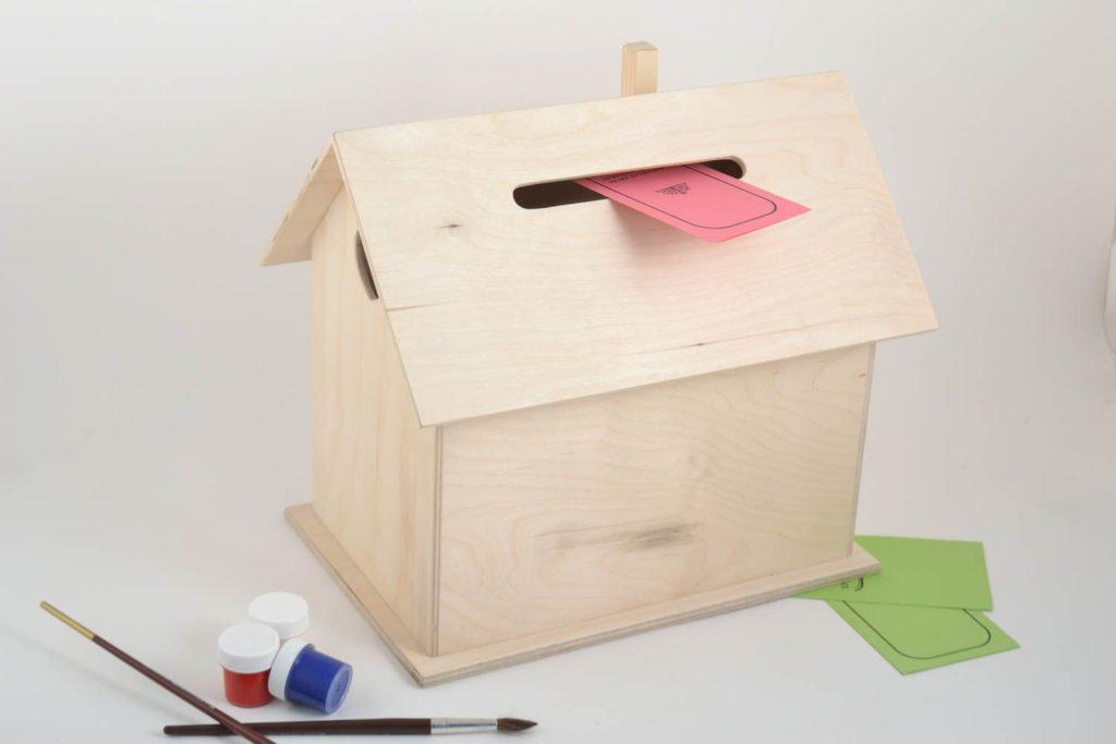 Как сделать своими руками ящик почта 68