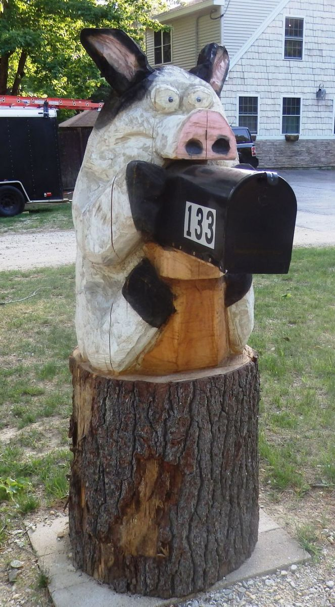 Mailbox with their hands