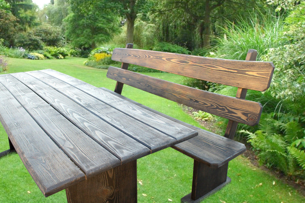 Стол и скамейки для дачи своими руками из дерева фото 9