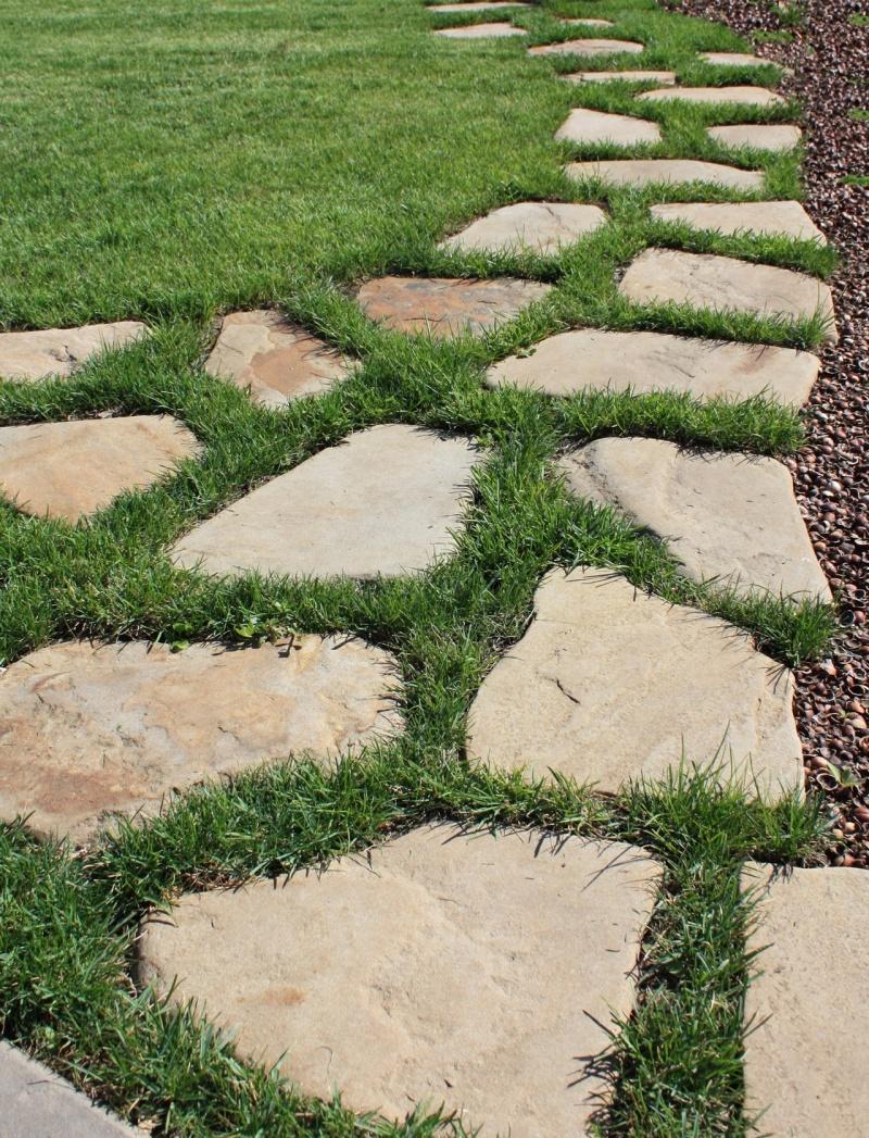 Садовые дорожки своими руками с малыми затратами из бетона фото 528