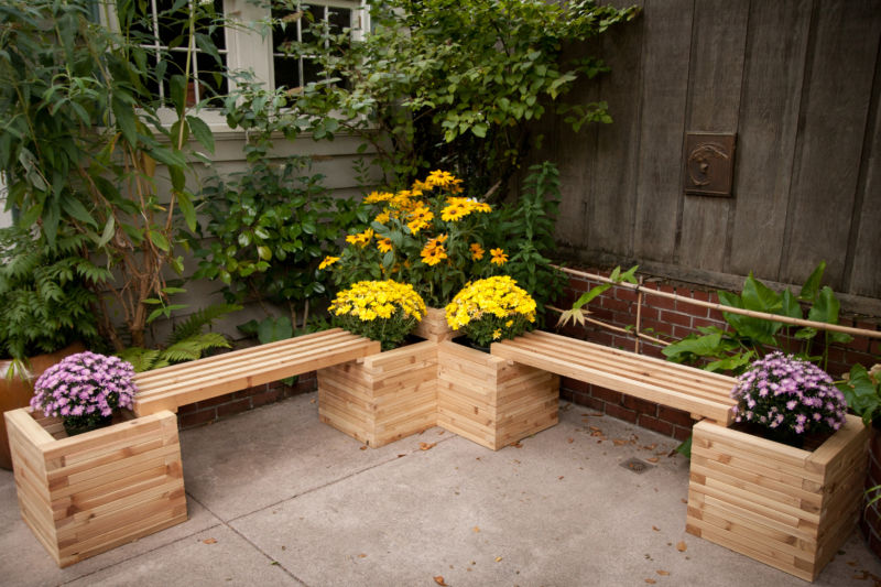 double-planter-bench
