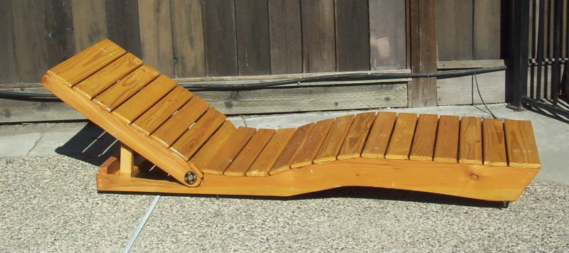 How to make a chaise longue