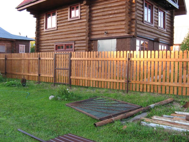 Деревянные заборы. Цены. Фото. Строительство