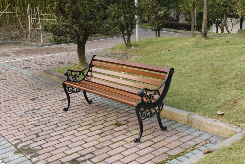 park-benches-outdoor-chairs-leisure-cast-iron-wood-preservative
