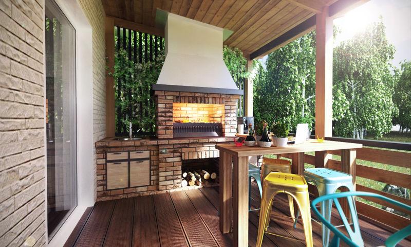 Дизайн террасы частного дома своими руками фото 84