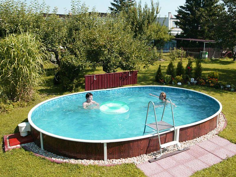Дачный бассейн видео