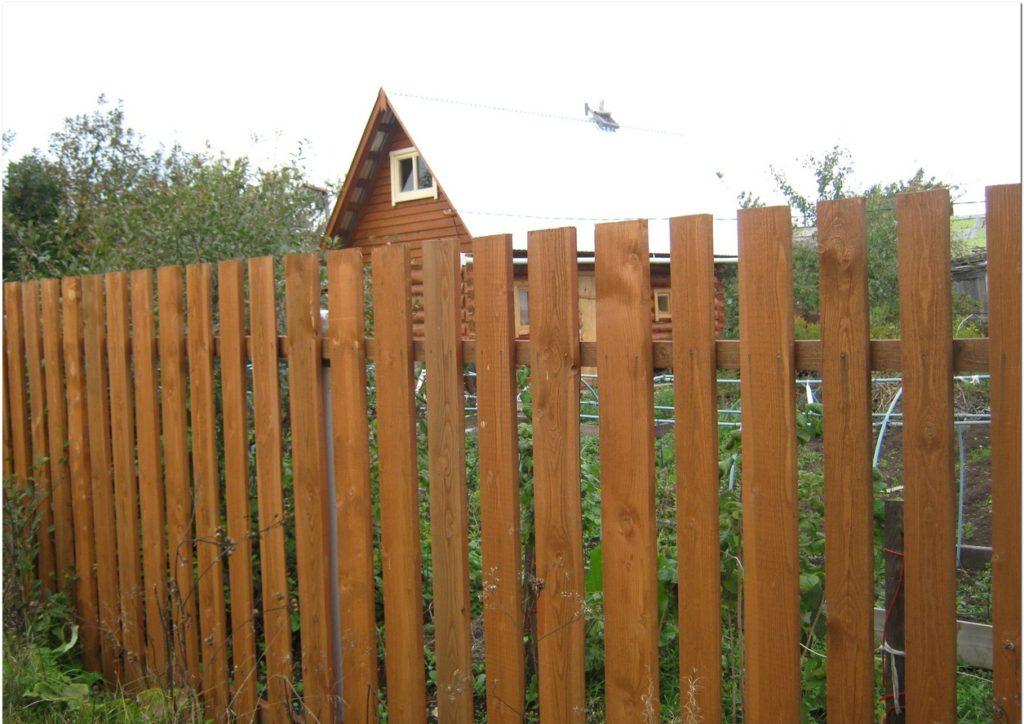 Забор из дюймовки своими руками 31