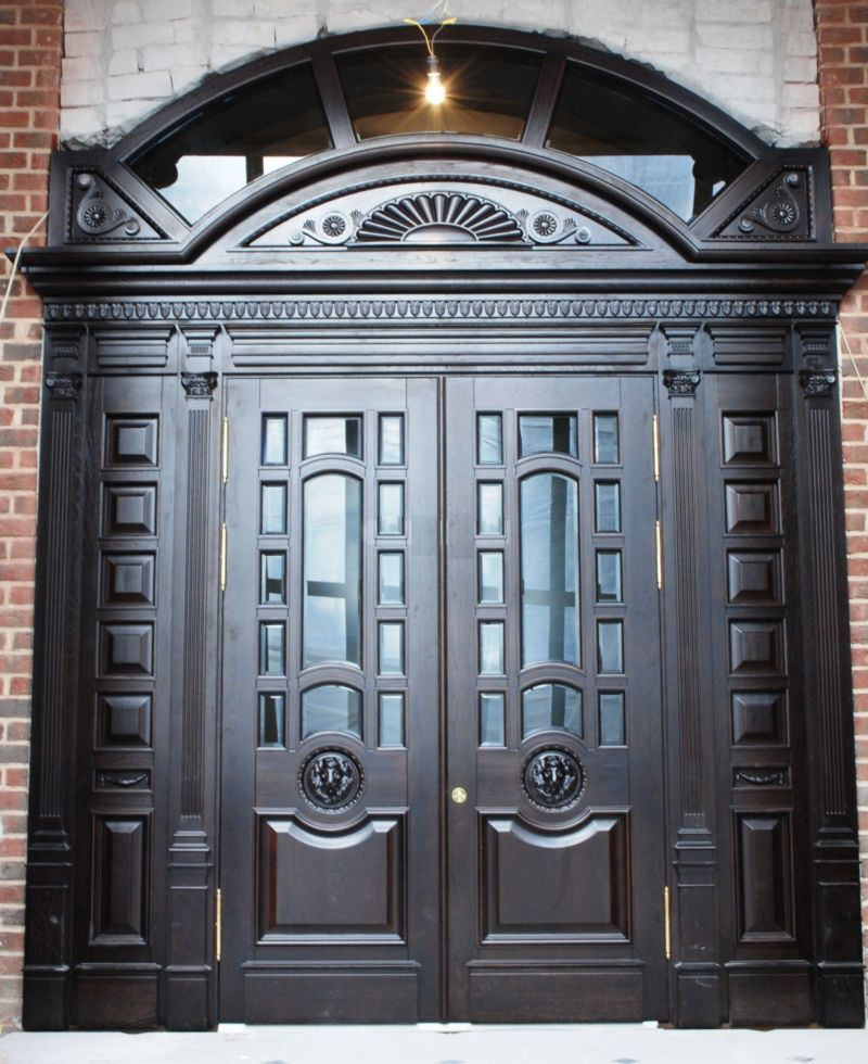 The front door to a private home
