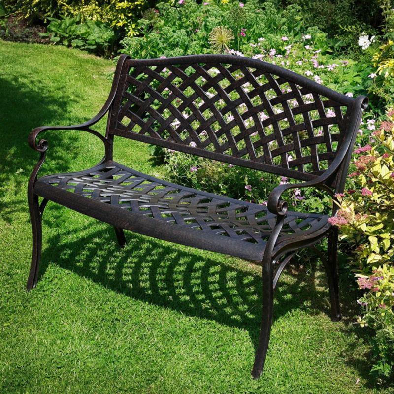 garden-benches-metal