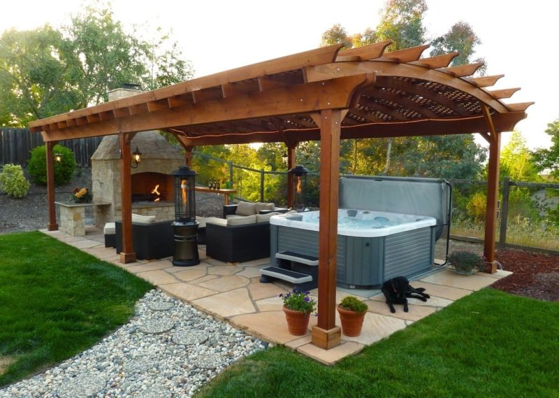 Outdoor Gazebo Designs Backyard Landscaping Ideas