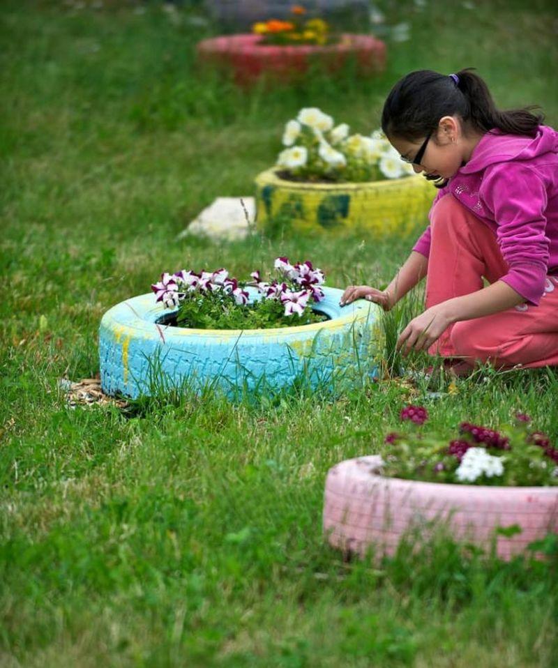 Укладка с живыми цветами фото