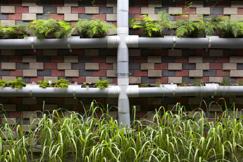 Vertical container garden