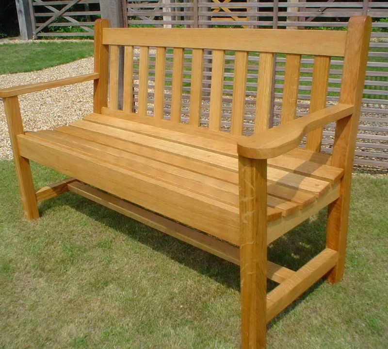 wooden garden benches uk