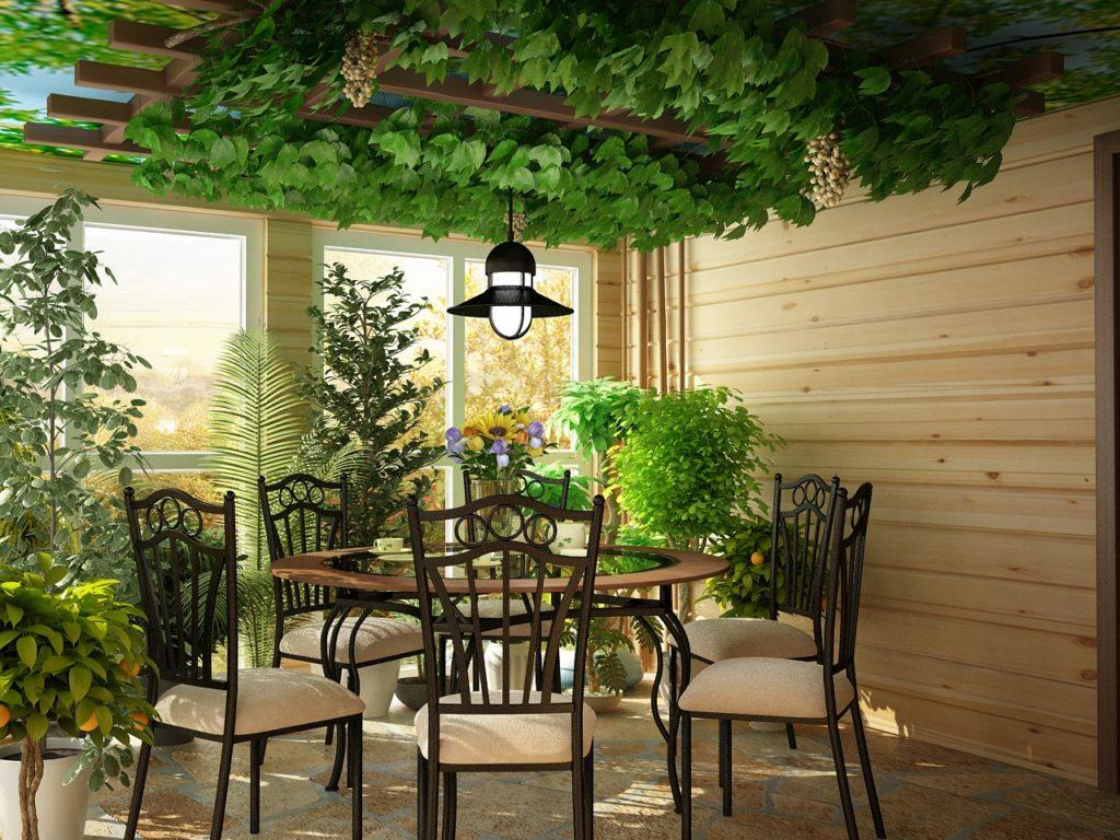 Зимний сад в частном доме своими руками фото фото 935