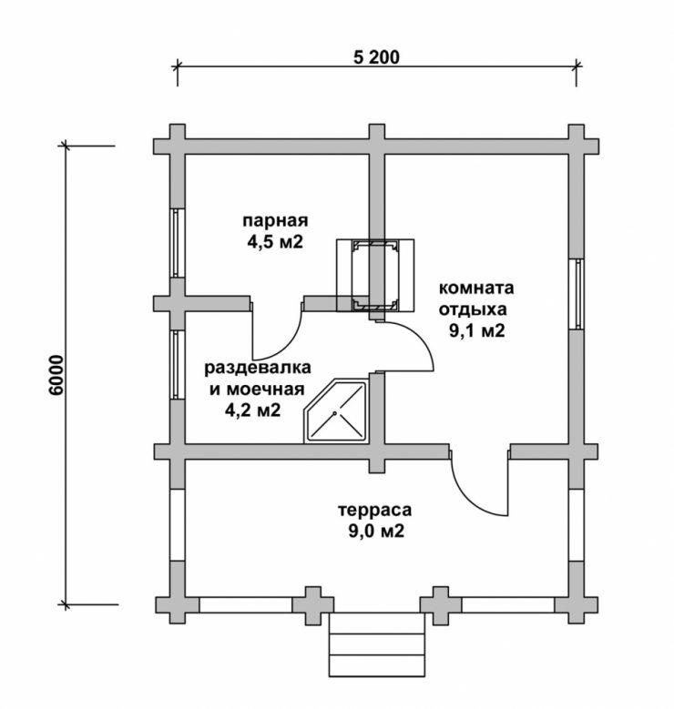 Как построить баню своими руками дешево из кирпича 41