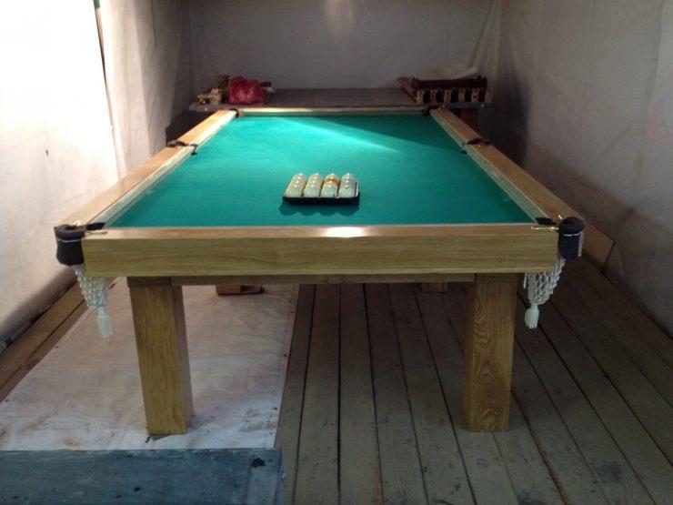 Установка бильярдного стола своими руками 10