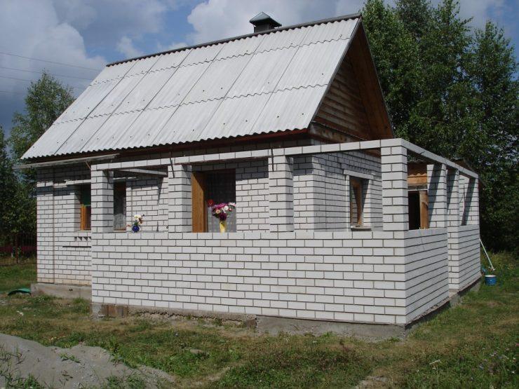 Кирпича и шлакоблока для строительства дачных домов мастика мб 70/60 пермь