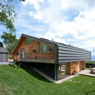 Дом на склоне (62 фото) - идеи создания креативного дизайна современного дома