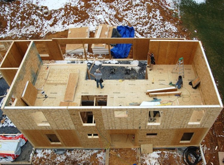 нашем строительство дома канадский вариант зависимости пропорций