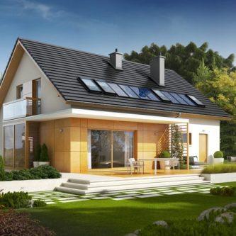 Двускатная крыша (100 фото): схемы, проекты и пошаговая инструкция по постройке