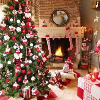 Как украсить комнату на новый год — идеи применения гирлянд и общего оформления интерьера (63 фото)