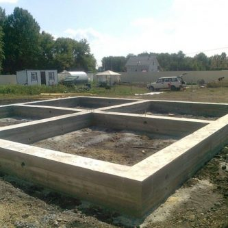 Ленточный фундамент (67 фото) — как правильно построить качественную основу для дома