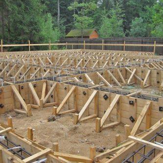Опалубка для фундамента - основные типы и методы применения. 73 фото как придать бетону форму