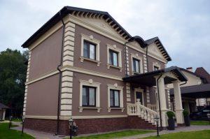 Отделка фасада дома - 57 фото восстановления и вариантов дизайна